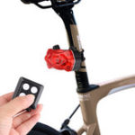 New XANES® TL26 Bike Taillight 8 Modes Warning LED Lamp USB Charging Bicycle Taillight Wireless Remote Control Lantern