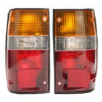 New Car Rear Tail Light Lamp Pair for Toyoto Hilux Pickup MK3 LN RN YN 2 4WD 1989-1994