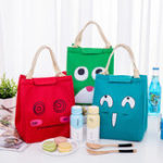 New Lunch Tote Bag Portable Picnic Cooler Insulated Handbag Food Storage Container