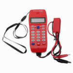 New NF-866 Phone Line Cable Tester with Display Screen Tele Fiber Optical Tool Check DTMF Caller ID Auto Detection Search Machine Cable Tester