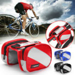 New BIKIGHT Cycling Frame Bag Waterproof Touch Screen Phone Case Bags Outdoor Bicycle Storage Bag