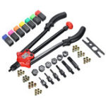 New BT-610 Rivet Tool Kit Rivnut Setting Tool Nut Setter NutSert Hand Riveter Working + Box