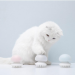 New FURRYTAIL Jellyfish Massage Cat Comb Pet Brush