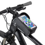 "New BIKIGHT Bike Bicycle Front Frame Tube Bag Waterproof Touch Screen 6.0"" Phone Case Cycling Bag"