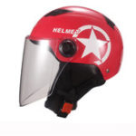 New Universal Unisex Motorcycle Scooter Half Face Helmet With Transparent Lens Breathable
