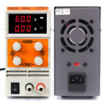New KUAIQU PS605D/PS605DM 0-60V 0-5A Mini DC Power Supply Digital Variable Adjustable Power Supply Switching Laboratory Power Supply