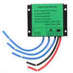 New 600W PWM Wind Turbine Controller 12V/24V Auto IP67 Waterproof Wind Generator Controller
