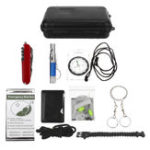 New SOS Emergency Survival Equipment Tools Kit Outdoor Tactical Camping Hiking Gear Tool