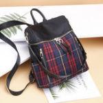 New Women Nylon Waterproof Multi-function Backpack