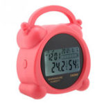 New Humidity Thermometer CN002 5 in 1 Digital Thermometer Hygrometer Alarm Clock for Home Office Humidity Monitor Termometro