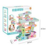 New Puzzle Fun Glider Track Parking Lot Plastic Children Toy Educational Development  Blocks Toys