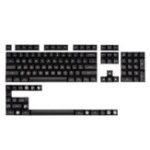 New Maxkey Black 127 Key SA Profile ABS Keycaps Keycap Set for Mechanical Keyboard