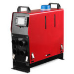 New Diesel Air Parking Heater 1-8KW Adjustable 12V Four-hole LCD Switch+ Remote Control Integrated Machine
