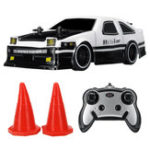 New AE86 1/24 2.4G 4WD Drift Rc Car Electric On-road Vehicle without Battery Toys