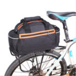 New BIKIGHT 14L Bicycle Bag Bike Rear Pannier Seat Rack Bag Waterproof Cycling Pannier Bag