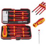 New 13Pcs 1000V Electronic Insulated Screwdriver Set Phillips Slotted Torx CR-V Screwdriver Repair Tools