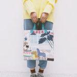 New Women Canvas Print Cute Handbag Casual Shoulder Bag