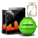 New LUCKY FF916 50M 2.4GHz WiFi Fish Finder Portable Wireless Color Screen LCD Display Sonar Smart Fish Finder