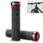 New ROCKBROS Bicycle Handle Anti-Skid TPE Rubber Bicycle Grips Outdoor Camping Bike Handlebar Bike Accessiors