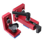 New Fixed T-Slot Miter Track Stop Chute Stopper 30/45 Manual Woodworking DIY Tools