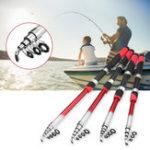 New Fishing Rod Portable Sea Spinning Pole Portable Ultralight Fiber Telescopic Fishing Tools
