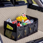 New XIAOMI LEAO Foldable Car Trunk Storage Box Travel Organizer Holder Interior Big Capacity Bag