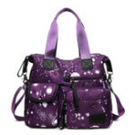 New Nylon Large-capacity Starry Sky Pattern Shoulder Bag