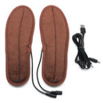 New USB Electric Heating Insole Winter Warmer Shoe Feet Heater Breathable Washable Foot Pads