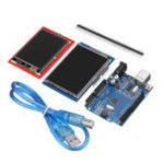 New UNO R3 Improved Version + 2.8TFT LCD Touch Screen + 2.4TFT Touch Screen Display Module Kit For Arduino