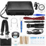 New 213Pcs Survival Tools Kit Emergency Survival Kit Multi-Tools First Aid Supplies Survival Gear EDC Gadget Tool Set  for Camping Hiking Hunting SOS