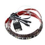 New 60inch 256LED Car Tailgate Strip Light Bar Red Brake Stop Turn Signal Lamp for Pickup Trailer