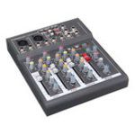 New Portable 4 Channel USB Audio Mixer Bluetooth Live Stage Audio Mixing Console