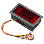New DC 6V-30V 12V 24V PWM Motor Speed Controller Digtal Display Max 8A 16kHz Adjustable DC motor Control CV Governor Switch