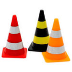 New 8PCS Orlandoo-Hunter Mini Road Cone with Sticker for OH32A02 OH32A03 1/32 Rc Car Model Parts