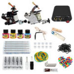 New 8-10V Professional 2 Tattoo Machine Tools Kit