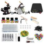 New 8-10V Professional 2 Tattoo Machine Tools Kit