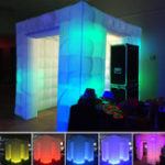 New 2.55M Inflatable Professional LED Air Photo Booth Photography Shooting Tent