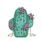New Women Cute Cactus Small Shoulder Bag Crossbody Bag