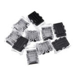New 10PCS 3 Pin 10MM IP65 Board to Board LED Tape Connector Terminal for RGB Strip Light