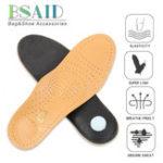 New Premium Leather Orthopedic Insole Antibacterial Active