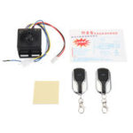 New 48V~60V Anti-theft Alarm System 2 Remote Control For Motorcycle/Scooter/Autobike