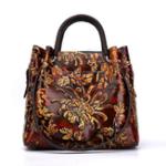 New Brenice Women Vintage Genuine Leather Bags