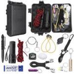 New SOS Emergency Survival Tools Kit Camping Fishing Hiking Survival Set Gear Tactical Tool
