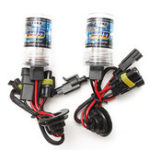 New Car 55W H1 HID Xenon Headlights Bulb 3000K-30000K 2600-4600LM 2PCS
