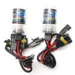 New Car 55W H1 HID Xenon Headlights Bulb 3000K-30000K 2600-4600LM 2PCS