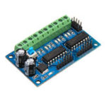 New L293D 4 DC Motor Drive Module Motor Driver Intelligent H-bridge For 4WD Car Robot