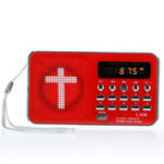 New Bible AUX U-disk TF SD Card Audio MP3 Music Player Portable Mini FM Radio Speakers For Elders Gift