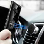New Bakeey Clear Ring Grip Kickstand Magnetic Adsorption Protective Case For Samsung Galaxy Note 9