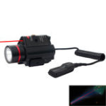 New SBEDAR 9908R LED Laser Sight Outdoor Hunting 3 Modes Tactical Red Laser/ Sight Combo Infrared Flashlight