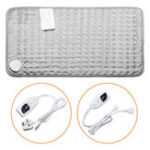 New Electric Heating Pad Neck Shoulder Back Pain Relief 30X60CM